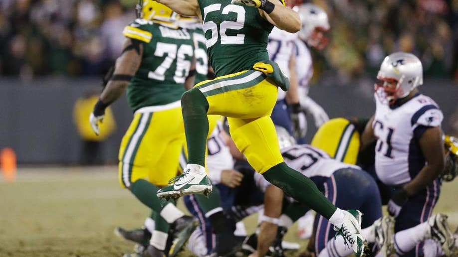 Packers replace Patriots as No  1 in AP Pro32 rankings after