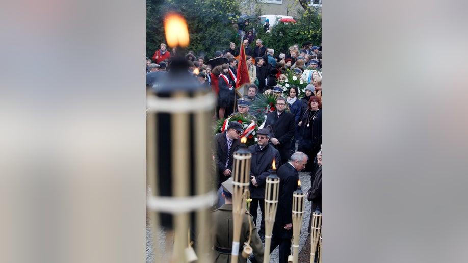 APTOPIX Poland Holocaust Remembrance