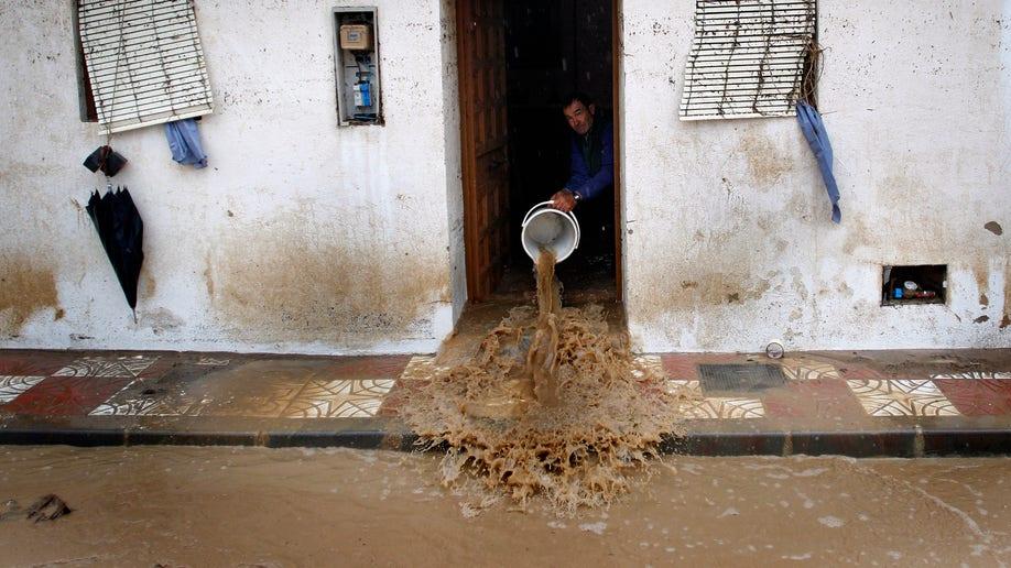 APTOPIX Spain Floods
