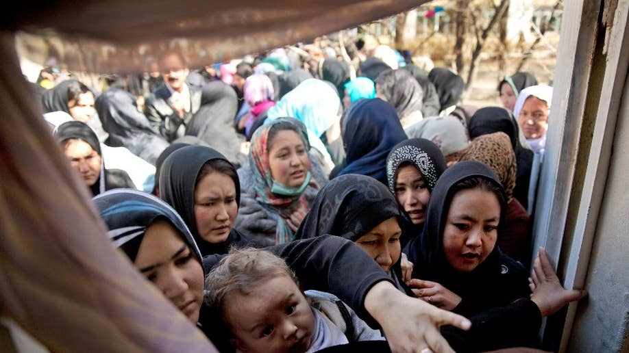 Candidates vie for women's vote in Afghanistan's
