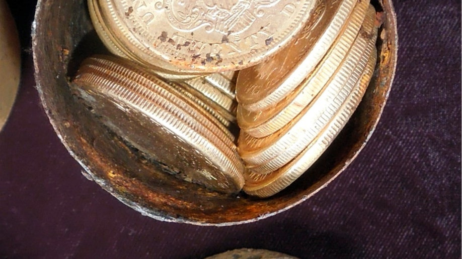 California Gold Coins Found In Backyard california couple finds $10 million in rare coins while out walking