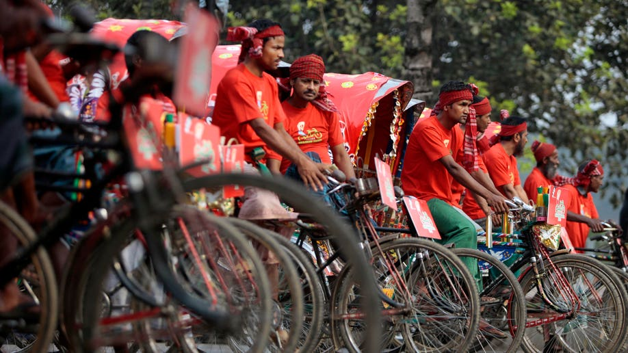 Bangladesh Rickshaw Race