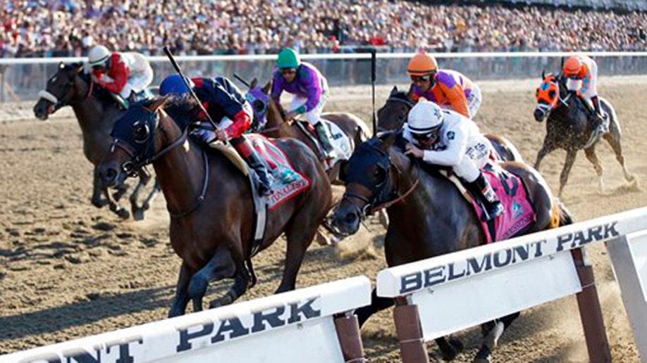 f3b41e7a-APTOPIX Belmont Stakes Horse Racing
