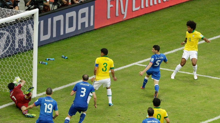 Brazil Soccer Confed Cup Italy Brazil