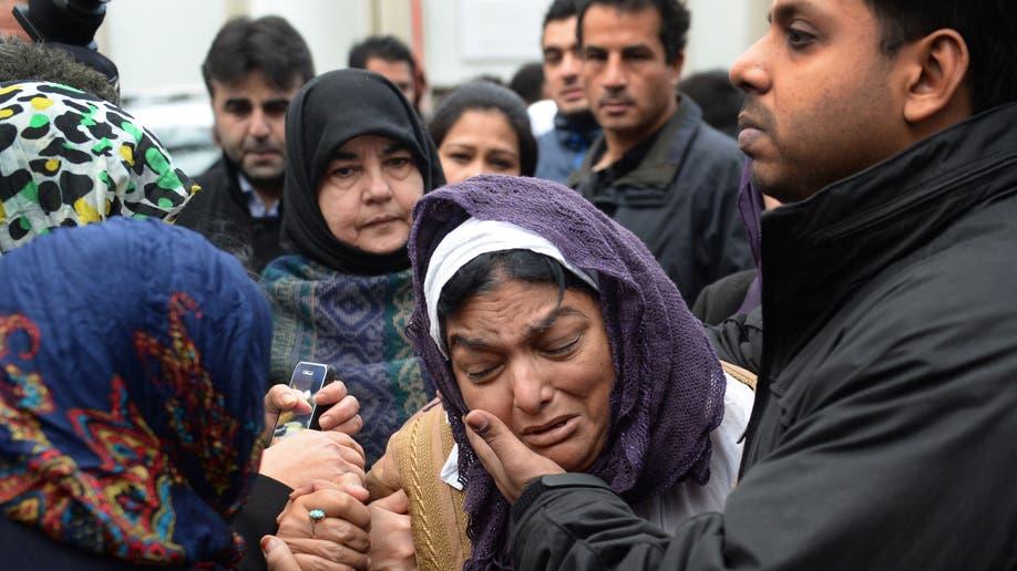 Britain Syria Funeral