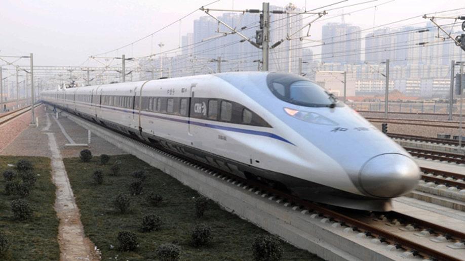 9bc9176b-China High Speed Train