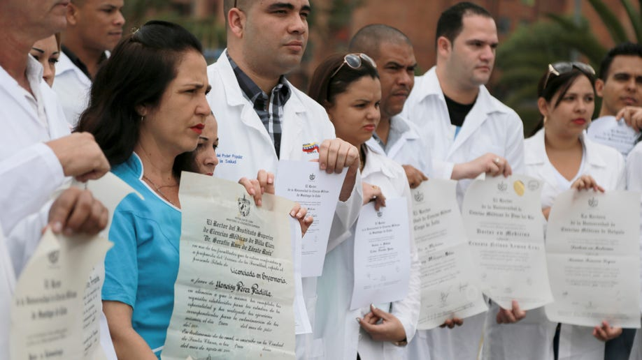 Colombia Cuban Doctors