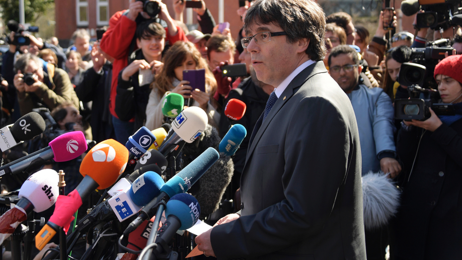 The Latest: Ex-Catalan leader calls for new talks with Spain