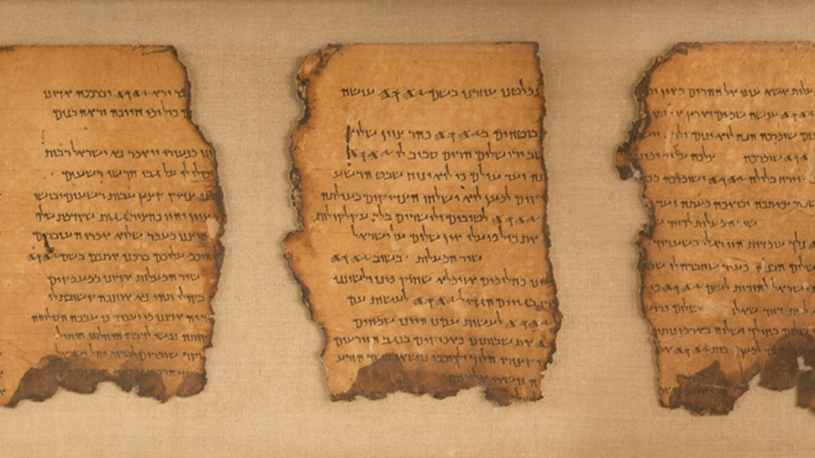 DEAD SEA SCROLLS - LIFE AND FAITH IN BIBLICAL TIMES