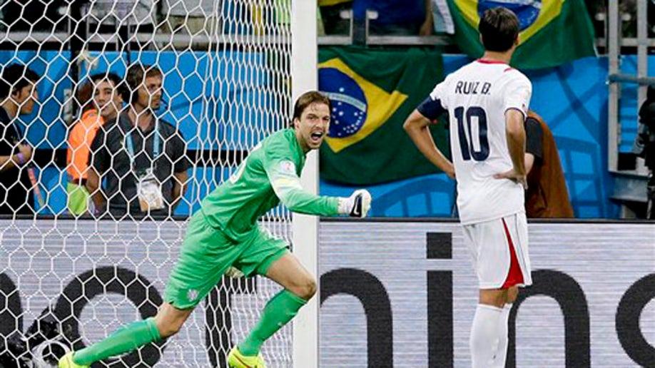 37313590-Brazil Soccer WCup Netherlands Costa Rica