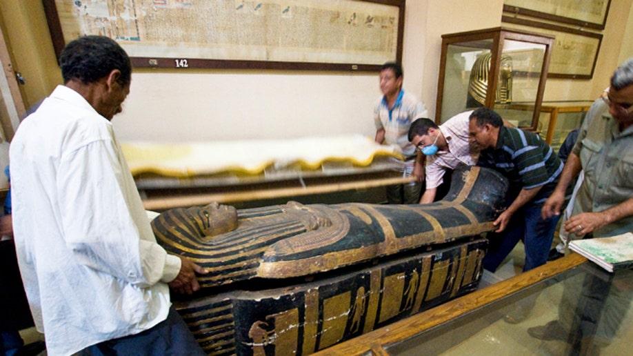 Egypt Mummies Heart Disease