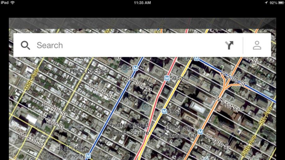12115144-Apple Google Maps