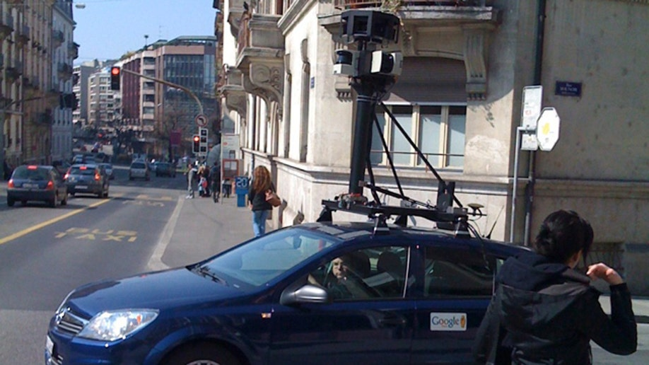 Google maps streetview car
