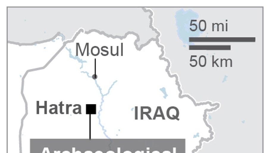 IRAQ HATRA