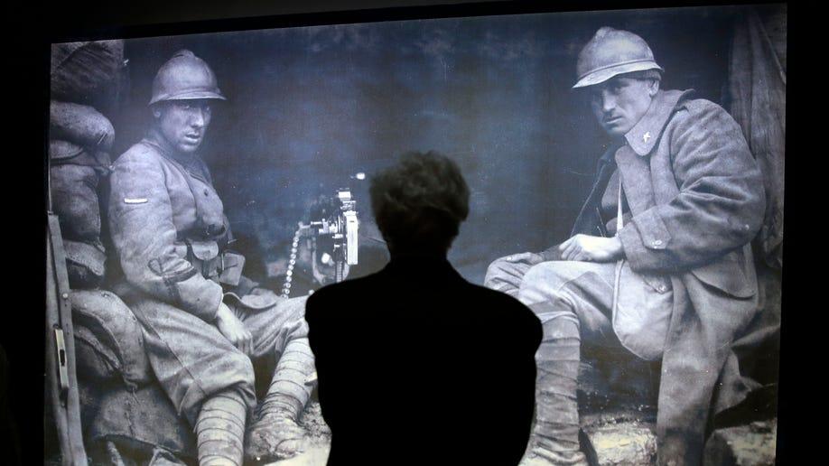 Italy WWI Exhibit