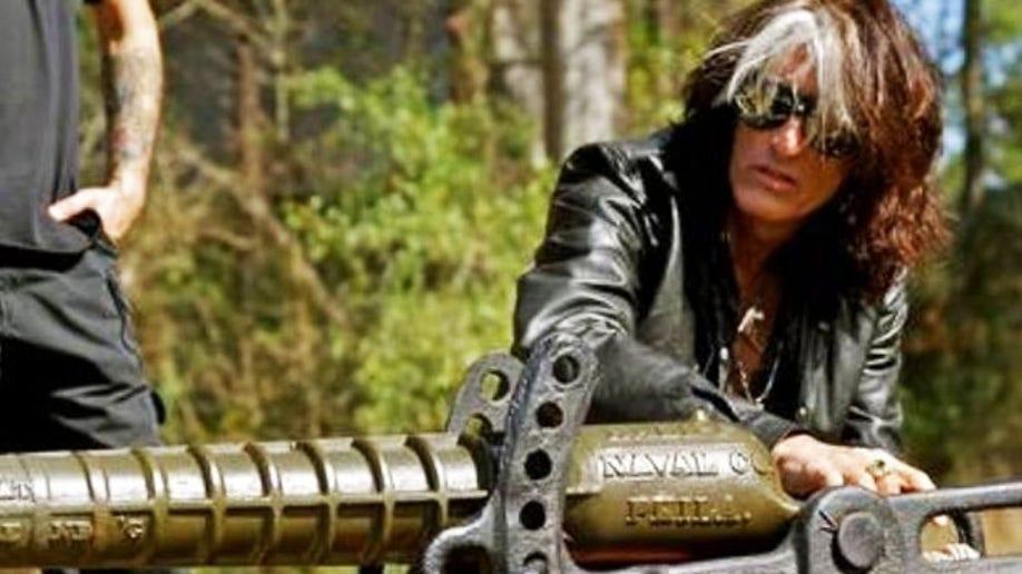 Aerosmith leader Joe Perry talks 'Sons of Guns,' classic firearms