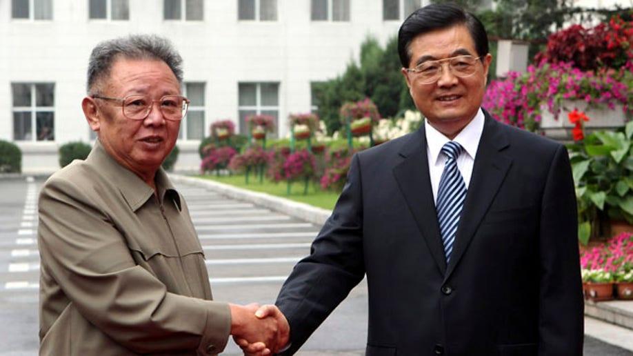 ab9fb4bb-China North Korea Kim Jong Il