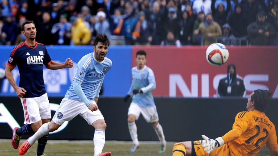 84701675-MLS Revolution New York City FC Soccer