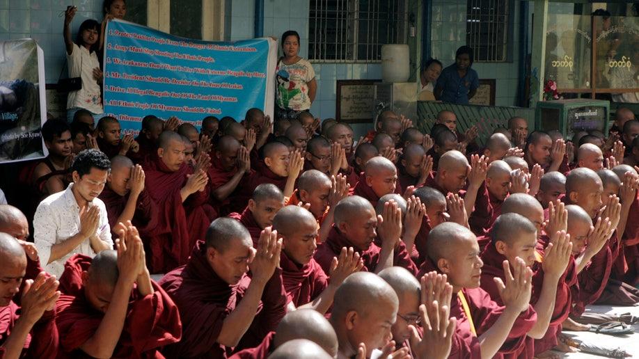 Myanmar Violence Protest
