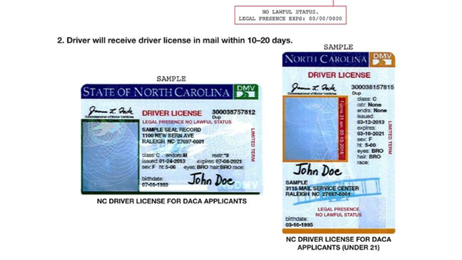 Illegal Immigrants-Licenses
