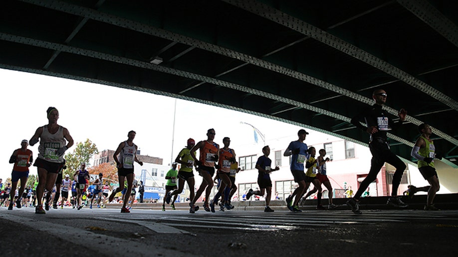 NYC Marathon Athletics