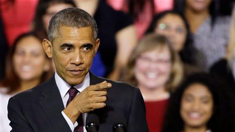 APTOPIX Obama