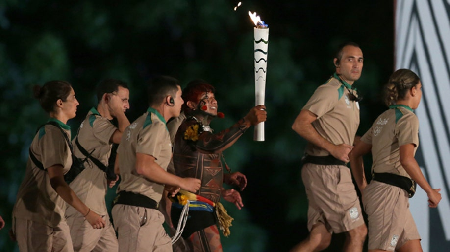 Brazil Olympic Torch Relay