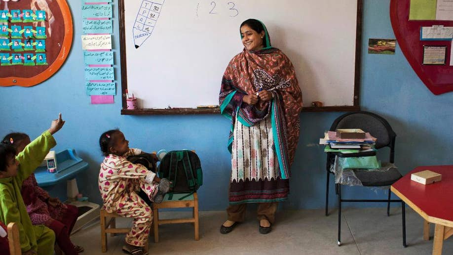 Fighting for an education: Pakistani woman builds 'dream' school in