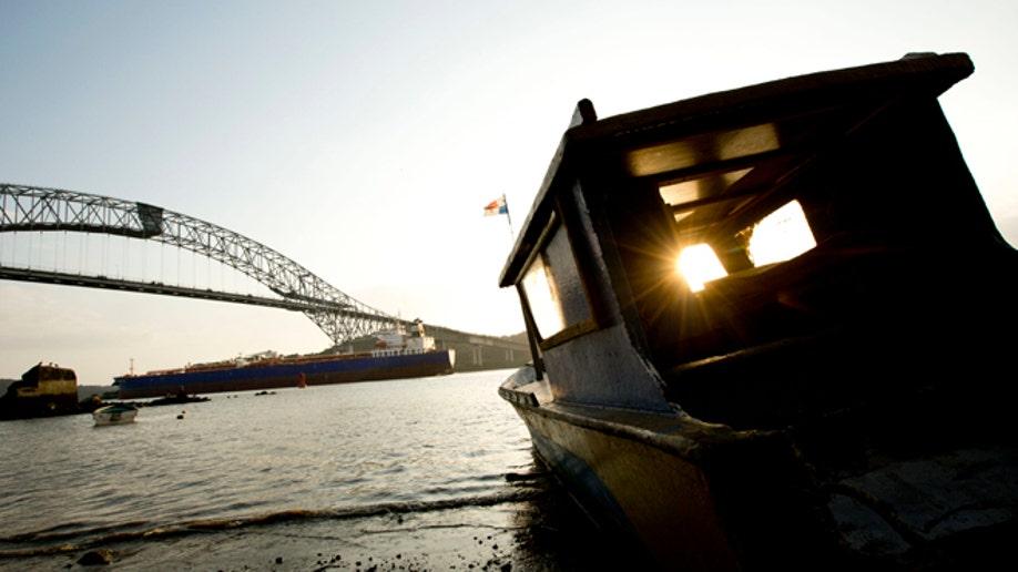 APTOPIX Panama Canal Dispute