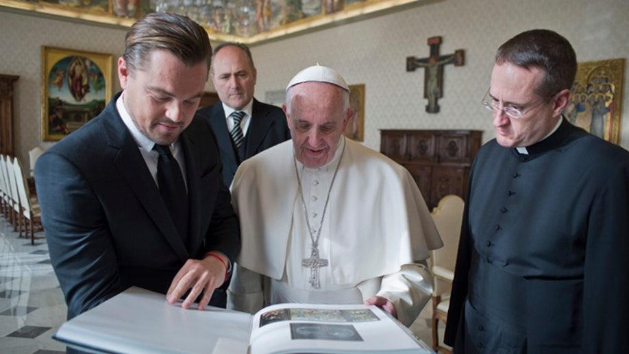 0a7f2b2d-Vatican Pope Di Caprio