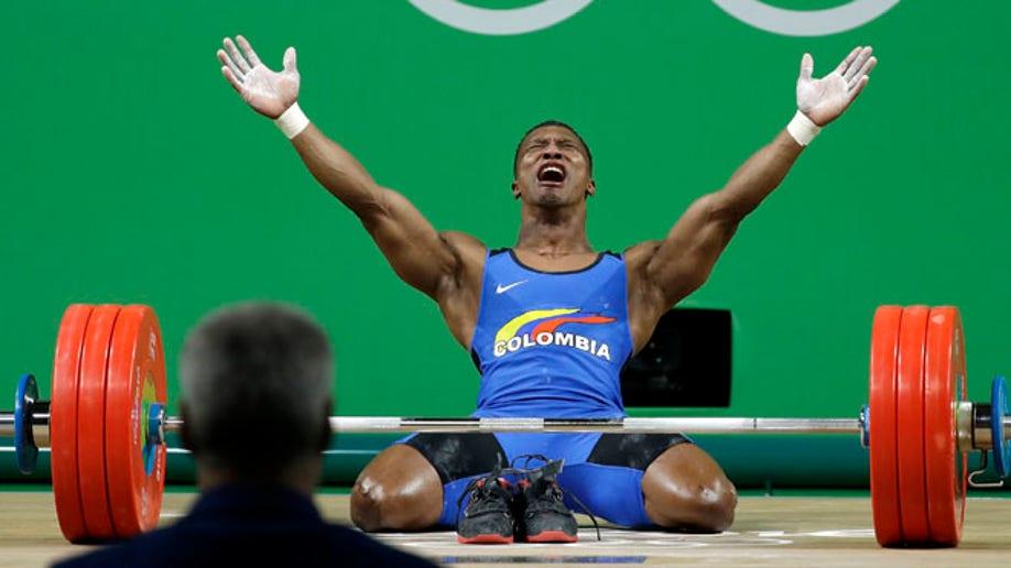 Rio Olympics Weightlifting Men