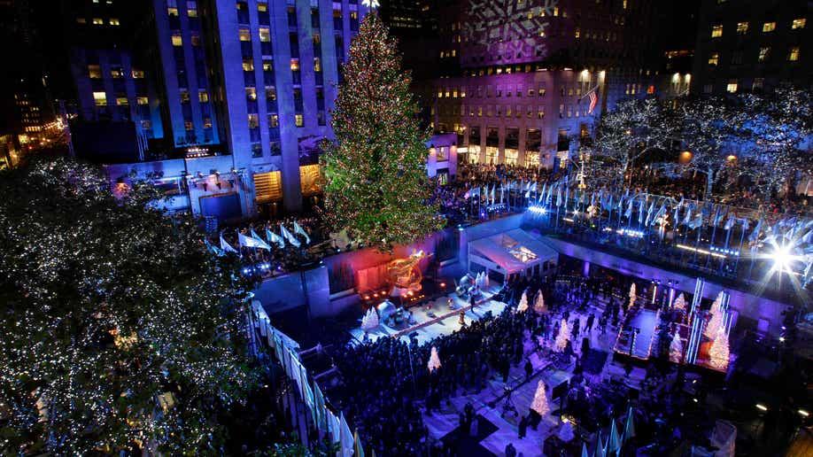 rockefeller tree lighting - How Many Lights Are On The Rockefeller Christmas Tree