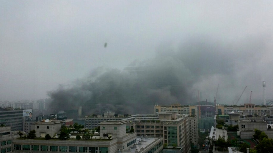 South Korea Fire