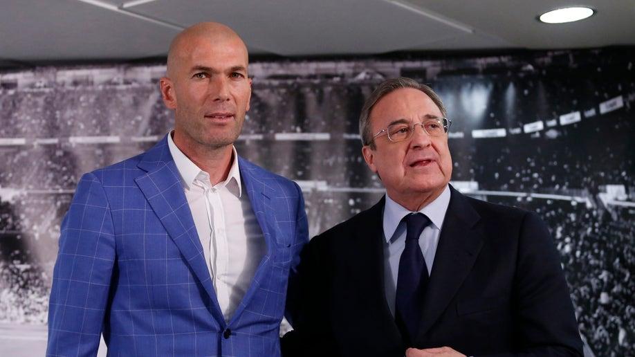 Spain Soccer Real Madrid Benitez