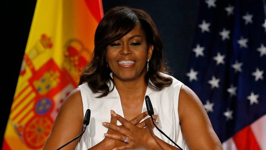 6349829e-Spain US Michelle Obama