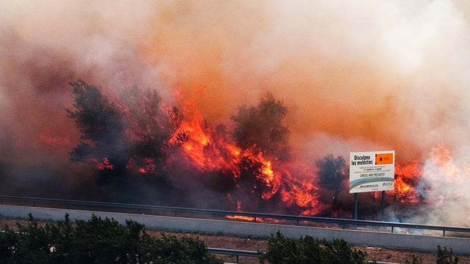 Spain Wildfire