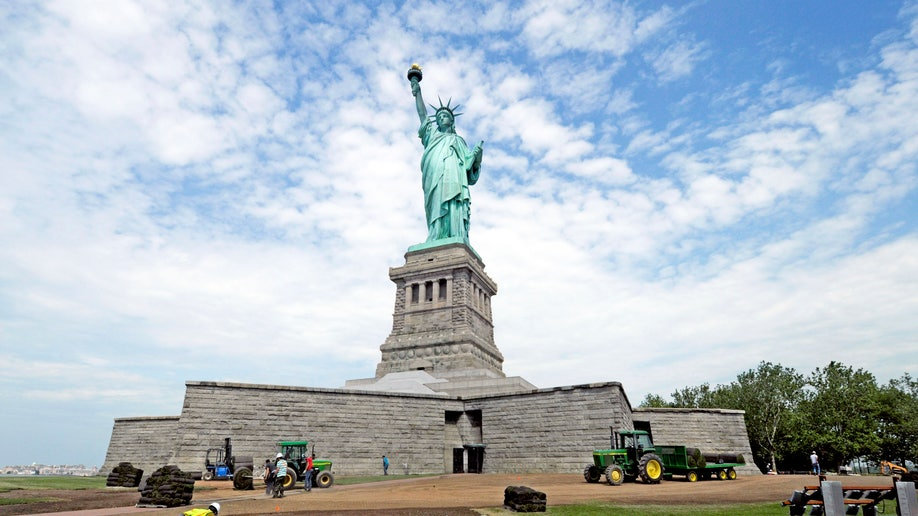 Statue of Liberty Reopening