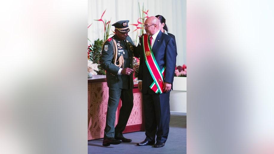 Suriname Inauguration