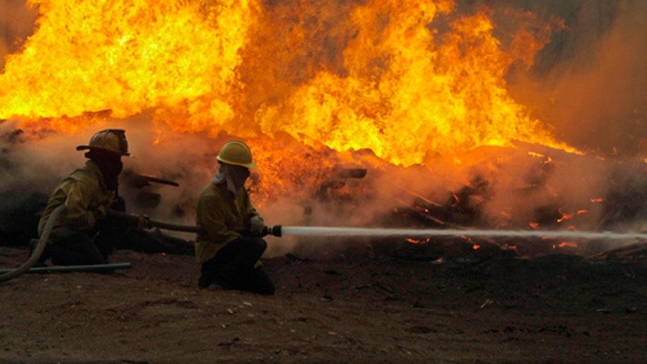 745506b3-APTOPIX Texas Wildfires