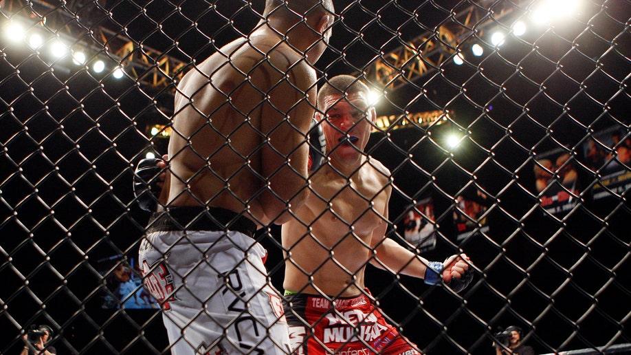 APTOPIX MMA UFC 137 Penn Diaz