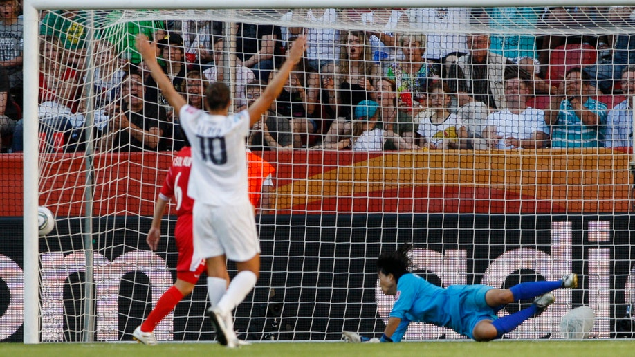 Germany Soccer Women's World Cup US North Korea