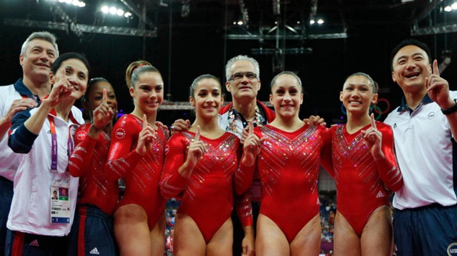 4f8f0c0f-London Olympics Artistic Gymnastics Women