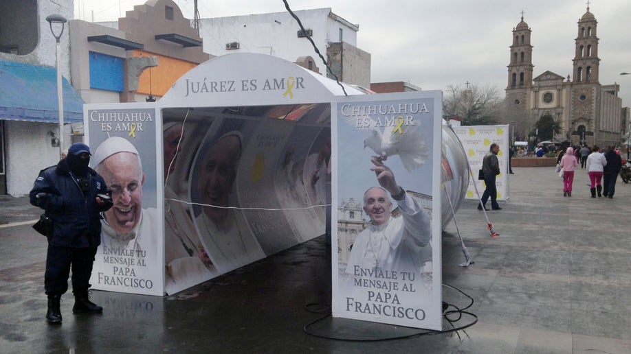 Vatican Mexico Border