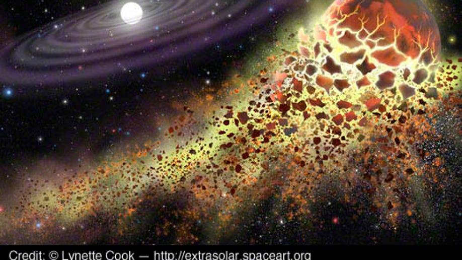 White Dwarf  GD 362 Shredding a Planet