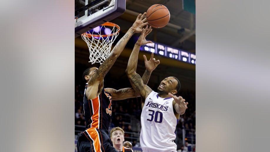 Oregon State Washington Basketball