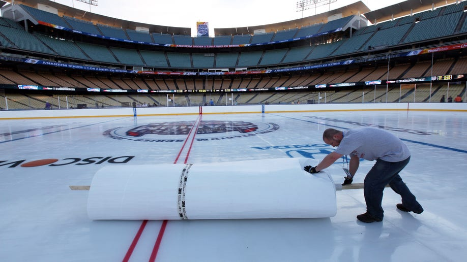 NHLStadiumSeries Los Angeles