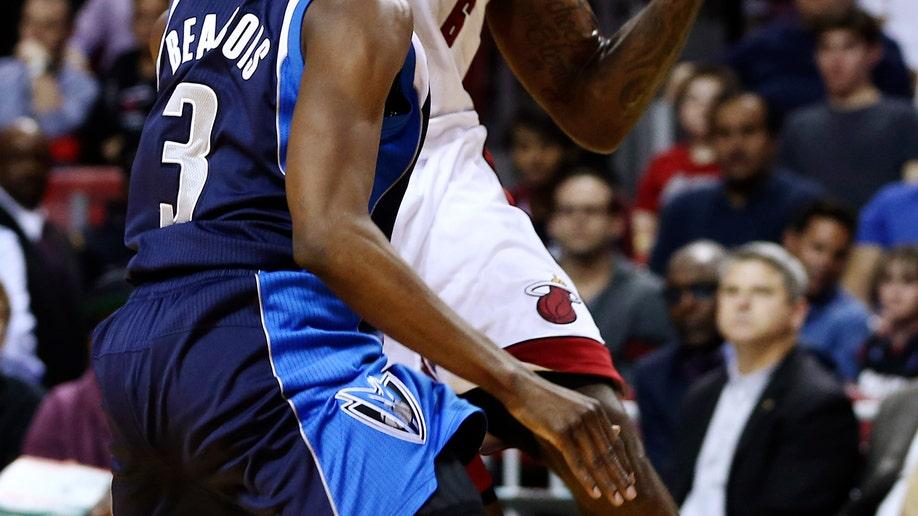 Mavericks Heat Basketball