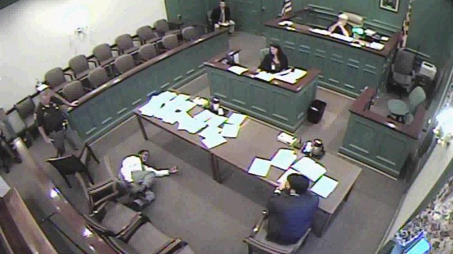 Defendant Shocked