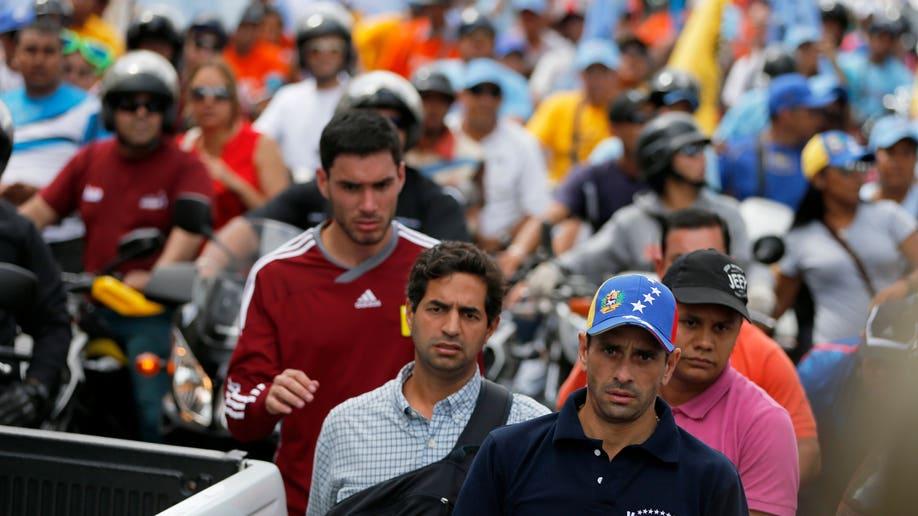 Venezuela Opposition Media