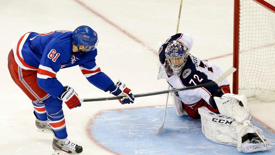 e2240823-Blue Jackets Rangers Hockey